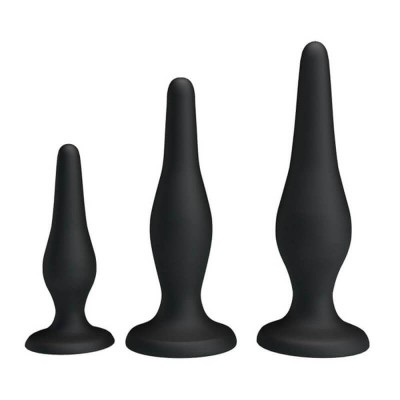 Анални разширители Anal Pleasure Butt Plug 3бр.