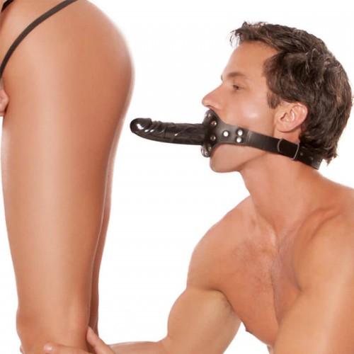 Ball Gag с Дилдо за уста Perverse Penis
