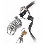 Chastity Cage Belt Extreme Пенис Клетка с колан