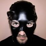 Фетиш маска Latex Angel