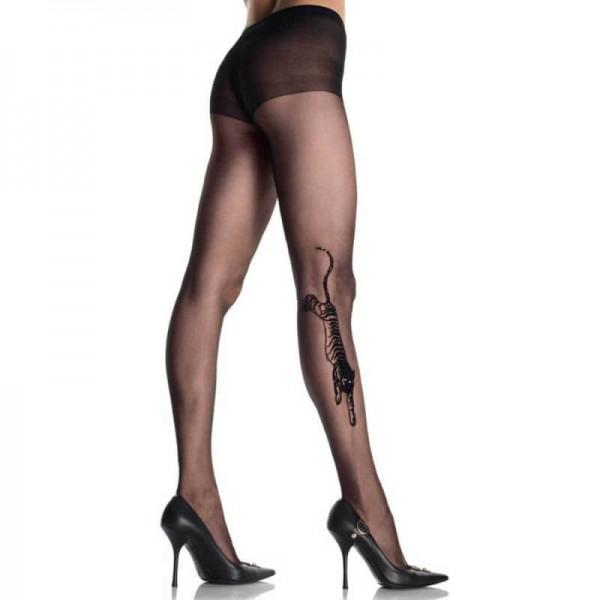 Дамски чорапогащник Tiger Tattoo