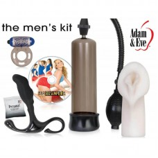 Секс играчки комплект за мъже All A Man Needs Kit by Adam & Eve