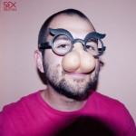 Парти комплект очила и сутиен с цици