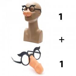 Комплект очила цици + очила пишка