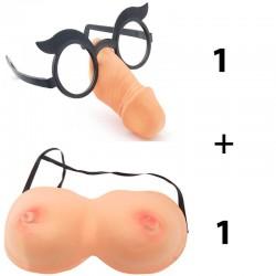Парти аксесоари Очила Пишка + Цици