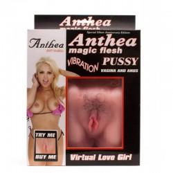 Изкуствена вагина с косми Горещо маце