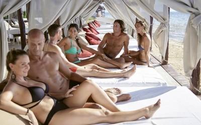 Секс тройка с жена ми на нудистки плаж | Секс разкази