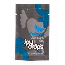 Еднократна доза лубрикант на водна основа Joydrops Natural 5мл за секс играчки