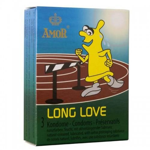 Задържащи Презервативи Amor Long Love 3 броя