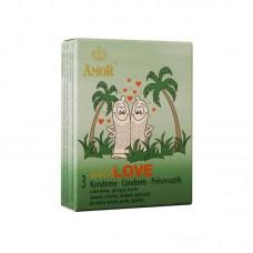Релефни презервативи Wild Love Amor 3 броя