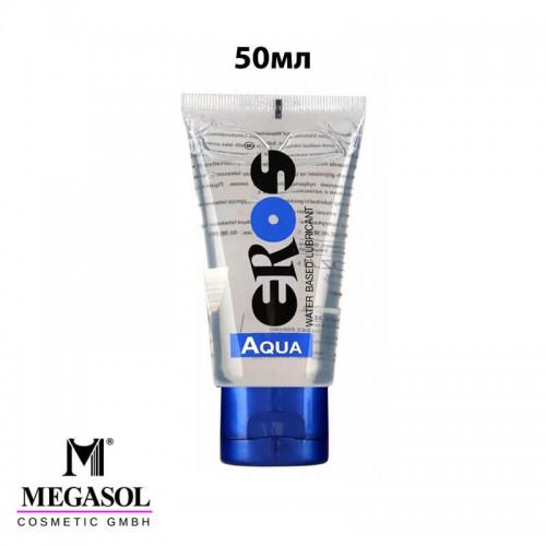 Лубрикант 50мл EROS AQUA на водна основа