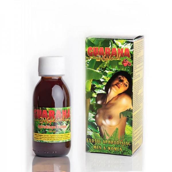 Възбуждащ еротичен афродизиак за жени и мъже с  Гуарана и Цинк Guarana Zinc Special 100 мл