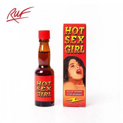 Хранителна добавка за възбуждане на жени Hot Sex Girl RUF 20ml