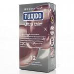 12бр. Тънки презервативи Tuxido Ultra Thin с безплатна и дискретна доставка