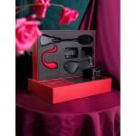 Секс Играчки подарък за жена Limited Kit Box Svakom сет Вибратор, Белезници, Маска, Плякалка
