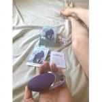 Секси Клиторен Вибратор за жени Satisfyer Layons Purple Pleasure