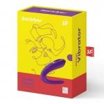 Секс играчка Вибратор за двойки Satisfyer Partner Double Classic