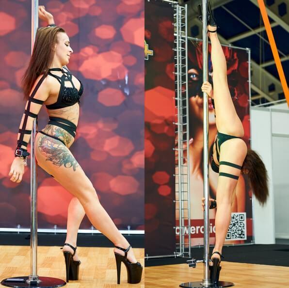 Танците на пилон или pole dance е едно изкуство, което изисква много силна нежност и техника