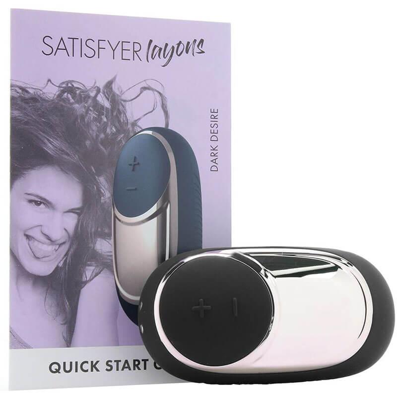 Секси клиторен вибратор масажор Dark Desire Satisfyer код: 2054 цена с дискретна доставка