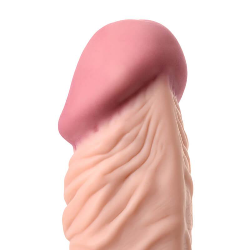 Вибратор Solid 20см A-toys Multi Speed Vibrator | Голям пенис вибратор от кибер кожа на добра цена с дискретна доставка от Секс Шоп Еротика